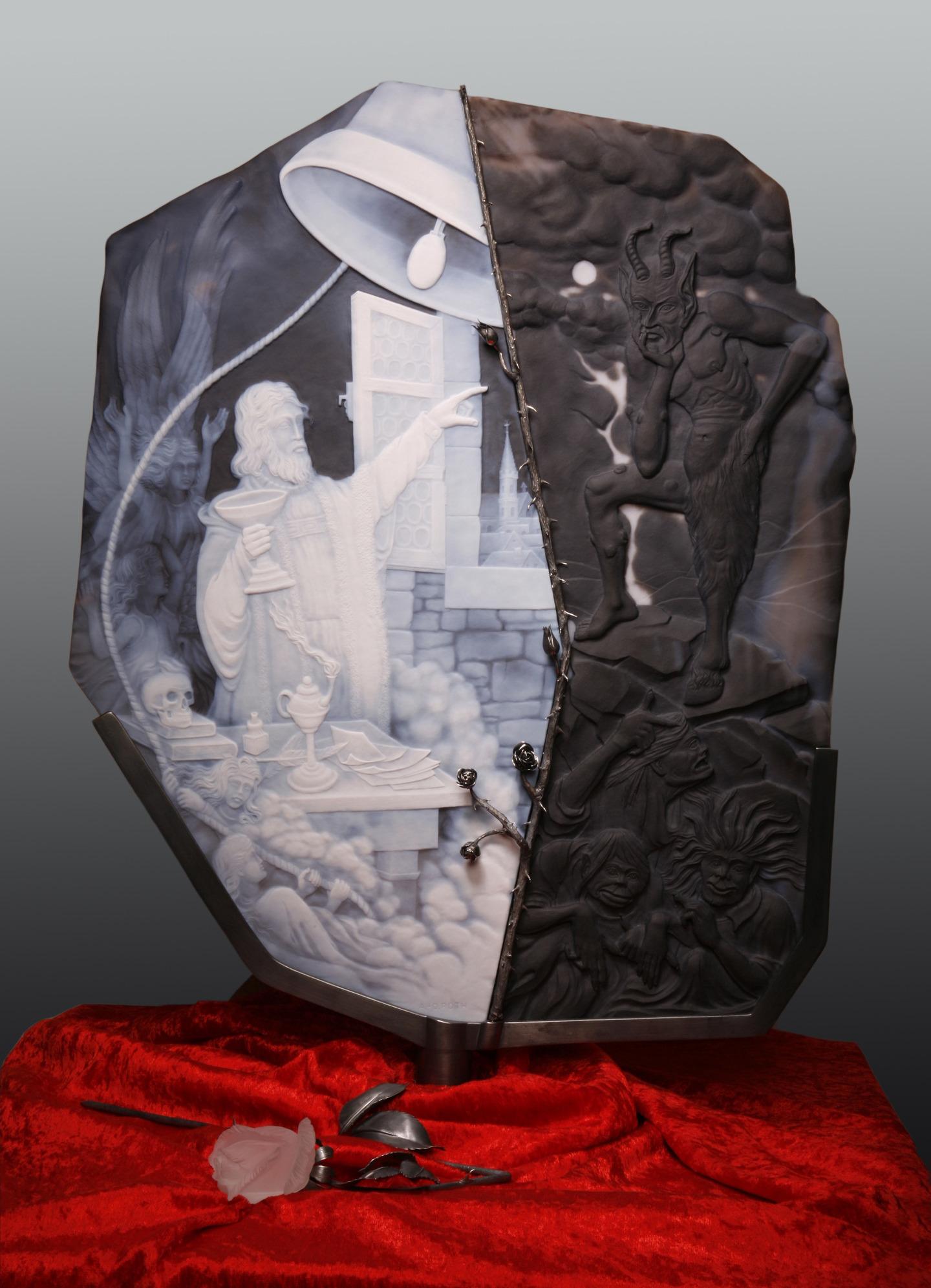 Faust in Edelstein - Die größten Kameen der Welt präsentieren Goethes Faust
